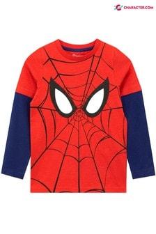 Character Shop Spiderman Long Sleeve Top