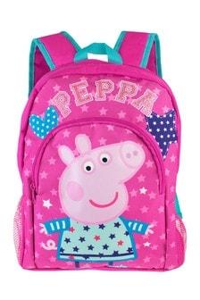 Character Shop Peppa Pig Stars and Hearts Backpack