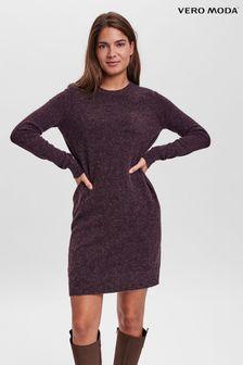 Vero Moda Long Sleeve  Knitted Dress