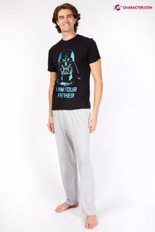 Character Mens Disney Star Wars Darth Vader Father Pyjamas
