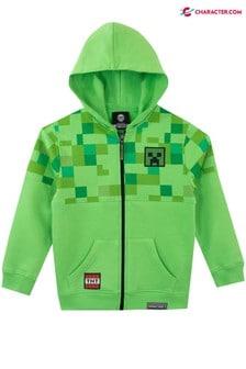 Character Minecraft Zip Hoodie