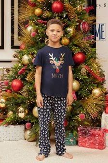Society 8 Matching Family Christmas Short Sleeve Pyjama Set