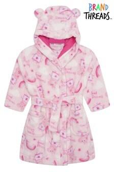 Brand Threads Peppa Pig Girls Robe