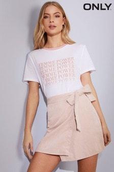 Only Wrap Corduroy Skirt