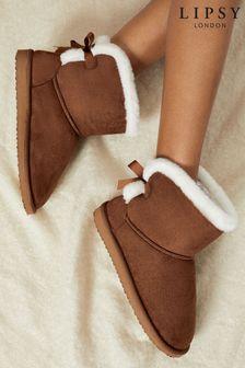 حذاء بوت للبيت منLipsy