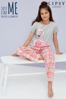 Pijama de manga corta de niña de Lipsy