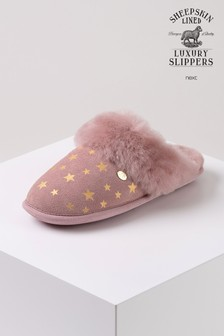 Just Sheepskin Duchess Star Mule