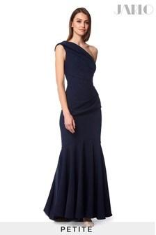 Jarlo Petite Pleated Fishtail Maxi Dress