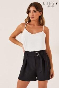 מכנסיים קצרים מחויטים של Lipsy