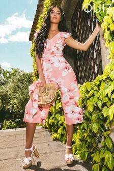 Quiz Culotte Floral Jumpsuit