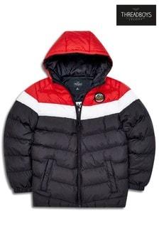 Threadboys Colourblock Chevron Padded Jacket