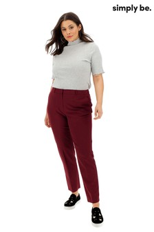 Simply Be PVL Tapered Trousers