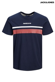 Jack & Jones Panelled Print T-Shirt