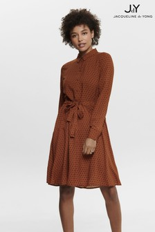 JDY Long Sleeve Shirt Dress