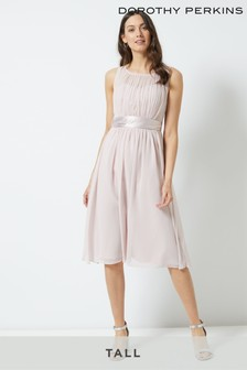 Dorothy Perkins Tall Bridesmaid Midi Dress