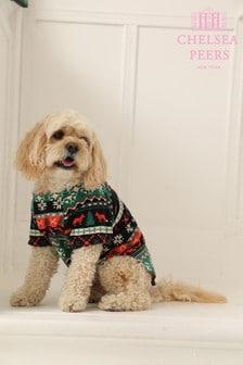 Komplet piżamowyChelsea Peer Family Fairisle z motywem psa
