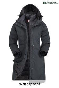 Mountain Warehouse Alaskan Womens 3 In 1 Long Jacket