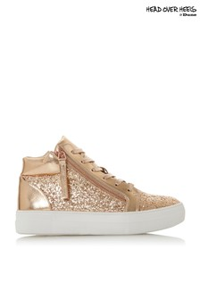 Head Over Heels Glitzy High Top Trainer