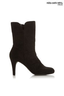 Head Over Heels Round Toe Boots