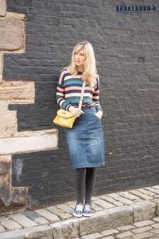 Brakeburn Denim Skirt