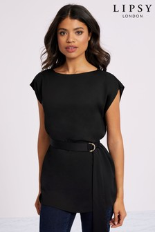 Lipsy Belted Top