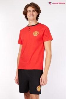 Character Mens Football Kit Pyjamas