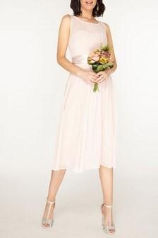 Dorothy Perkins Bethany Chiffon Midi Dress