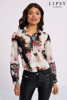 Lipsy Printed Shirt