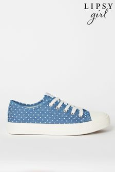 Lipsy Low Top Lace Up Trainer (Older)