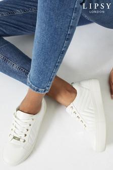 Lipsy Quilted Lace Up Trainer