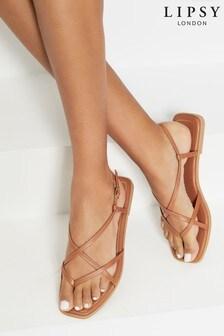 Lipsy Multi Strappy Flat Sandal