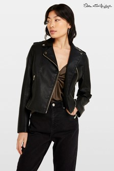 Miss Selfridge Debbie PU Biker Jacket