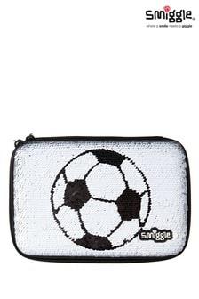 Estuche rígido con estampado de balon de fútbol Goal de Smiggle