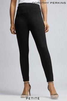 מכנסיים צמודים ללא רכיסה בגזרת פטיט שלDorothy Perkins