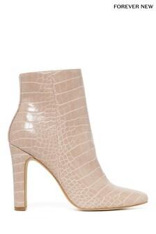 Forever New Chloe Thin Block Heel Boot