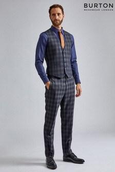 Burton Slim Tartan Trousers