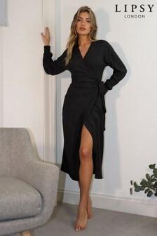 שמלת מידי-מקסי מעטפת נעימה שלLipsy