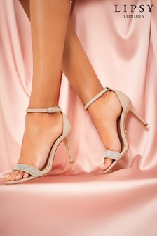 Lipsy Diamanté Barely There Sandal