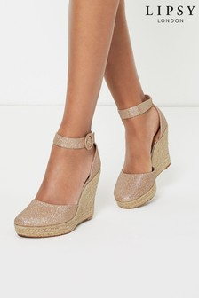 Lipsy Covered Buckle Wedge