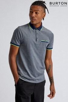 Burton Polo-Shirt mit Kontraststreifen am Kragen