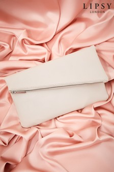 Lipsy Foldover Clutch Bag