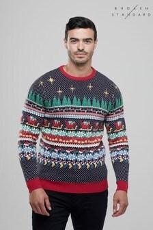Božični pulover Broken Standard Wrapping Paper