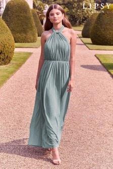 Dlhé variabilné šaty Lipsy Bella so sieťovinou
