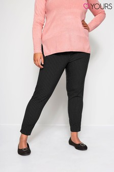 Yours Curve Bi-Stretch Tapered Trousers