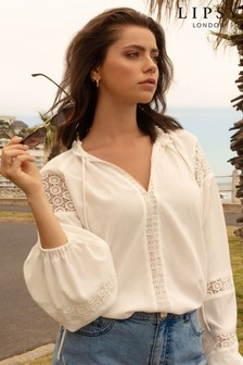 Lipsy Relaxed Lace Blouse