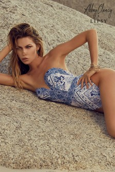 Abbey Clancy x Lipsy Sweetheart Swimsuit