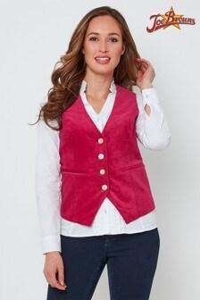 Joe Browns Stunning Pink Waistcoat