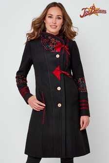 Joe Browns Elegant Embroidered Coat