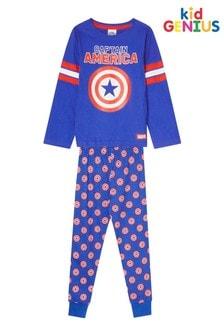 Kids Genius Captain America Character PJ Set