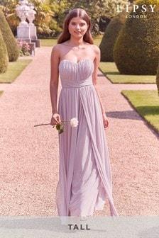 Lipsy Tall Bella Multiway Bandeau Maxi Dress